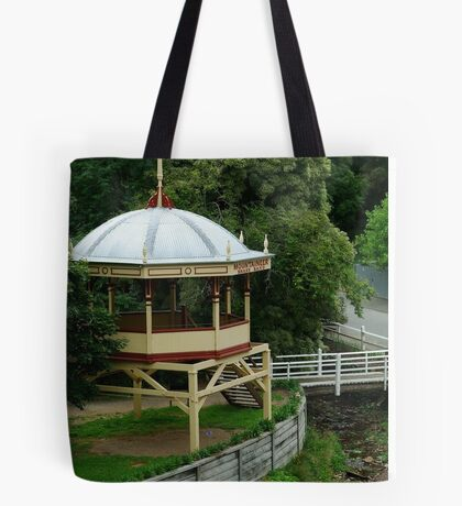 Mountaineer Brass Band,Walhalla Tote Bag