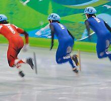 olympic Short Track Speed Skating by ScottPhotos