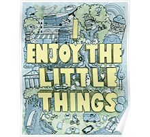 I enjoy the little things Poster
