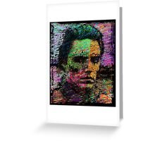 Walken Around Town. Greeting Card