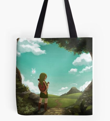 [The Legend of Zelda: Ocarina of Time] The Outset of a Journey Tote Bag