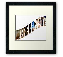 Werecoyote Framed Print