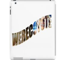 Werecoyote iPad Case/Skin
