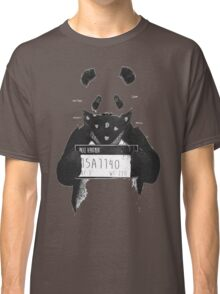 Bad Banksy Panda Classic T-Shirt