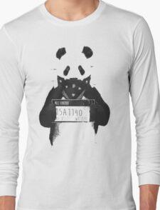 Bad Banksy Panda Long Sleeve T-Shirt