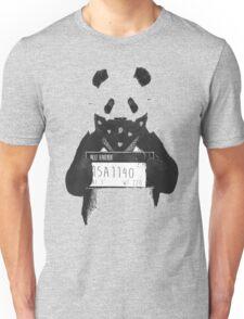 Bad Banksy Panda Unisex T-Shirt