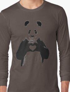 All You Need is Love Banksy Panda Long Sleeve T-Shirt