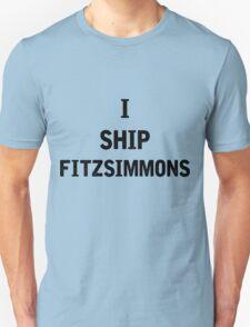 I Ship Fitzsimmons Unisex T-Shirt