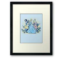 Fairytale Fatales Framed Print