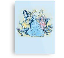 Fairytale Fatales Metal Print