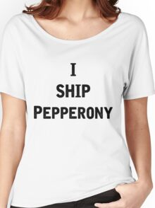 I Ship Pepperony Women's Relaxed Fit T-Shirt