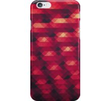 Abstract Color Pattern in Red iPhone Case/Skin