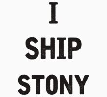 I Ship Stony by julia1798