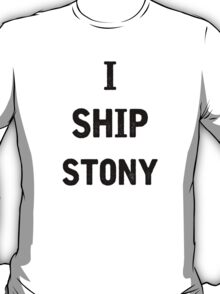 I Ship Stony T-Shirt
