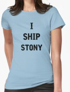 I Ship Stony Womens Fitted T-Shirt