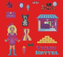Pixel Trixie Mattel One Piece - Long Sleeve