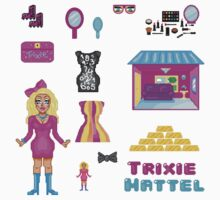 Pixel Trixie Mattel Kids Clothes