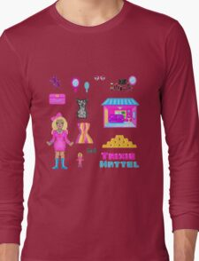Pixel Trixie Mattel Long Sleeve T-Shirt