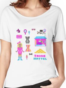 Pixel Trixie Mattel Women's Relaxed Fit T-Shirt