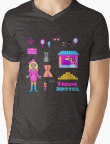 Pixel Trixie Mattel Mens V-Neck T-Shirt
