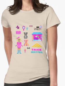Pixel Trixie Mattel Womens Fitted T-Shirt