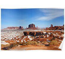 Monument Valley Vista Poster