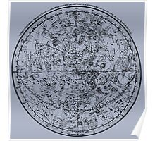 Vintage Astronomy Chart. Poster