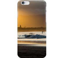 Winter Sunset in Byron Bay iPhone Case/Skin