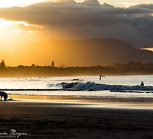 Winter Sunset in Byron Bay by Jake Morgan