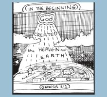 GENESIS 1:1 IN THE BEGINNING Kids Tee