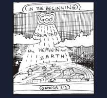 GENESIS 1:1 IN THE BEGINNING Kids Tee