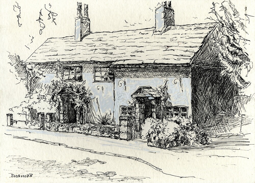 Cottage in Breaston, Derbyshire by Linandara