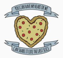"""have a """"pizza"""" my heart Kids Tee"""