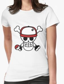 Red pirate 1 Womens Fitted T-Shirt
