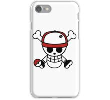 Red pirate 1 iPhone Case/Skin