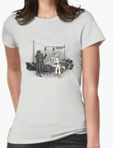 Great Scott, Holy Fender Benders  Womens Fitted T-Shirt