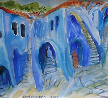 Chefchaouen Dream by Adrian Symes