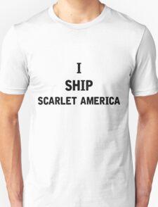 I Ship Scarlet America Unisex T-Shirt