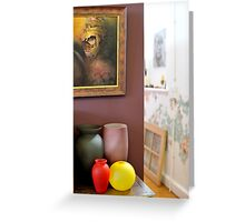 The Artist's House Greeting Card