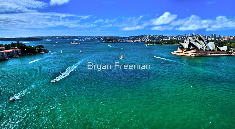 Sydney Harbour - Australia by Bryan Freeman