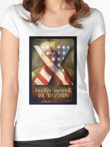 Justice Served. Women's Fitted Scoop T-Shirt