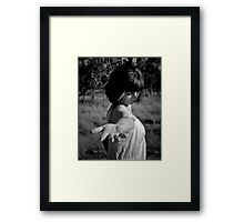 Offer me Love and  I will try One More Time Framed Print