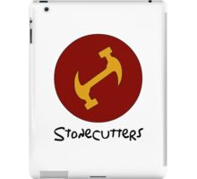 Stonecutters secret handshake shirt iPad Case/Skin