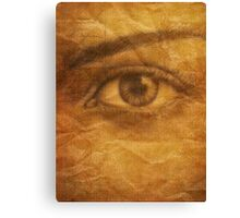 SEEPIA FORESIGHT Canvas Print