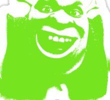 Shrek'd Out - Green Sticker