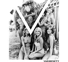 VNDERFIFTY GIRLS LOVE MUPPETS Photographic Print