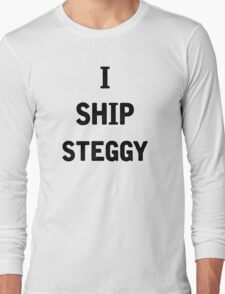 I Ship Steggy Long Sleeve T-Shirt