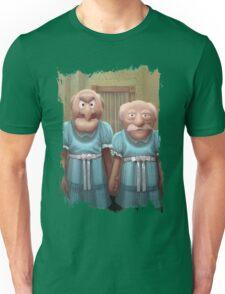 Muppet Maniac - Statler & Waldorf as the Grady Twins Unisex T-Shirt