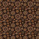 - Coffee pattern - black - by Losenko  Mila