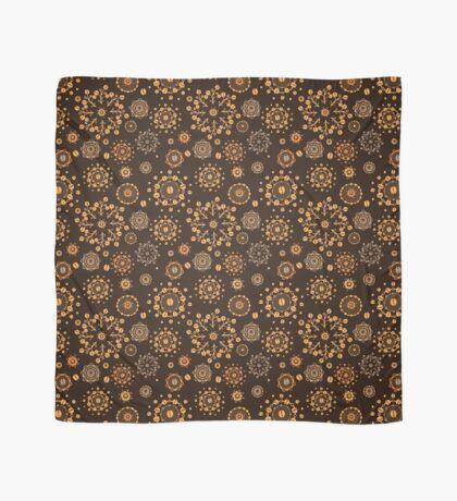 - Coffee pattern - black - Scarf